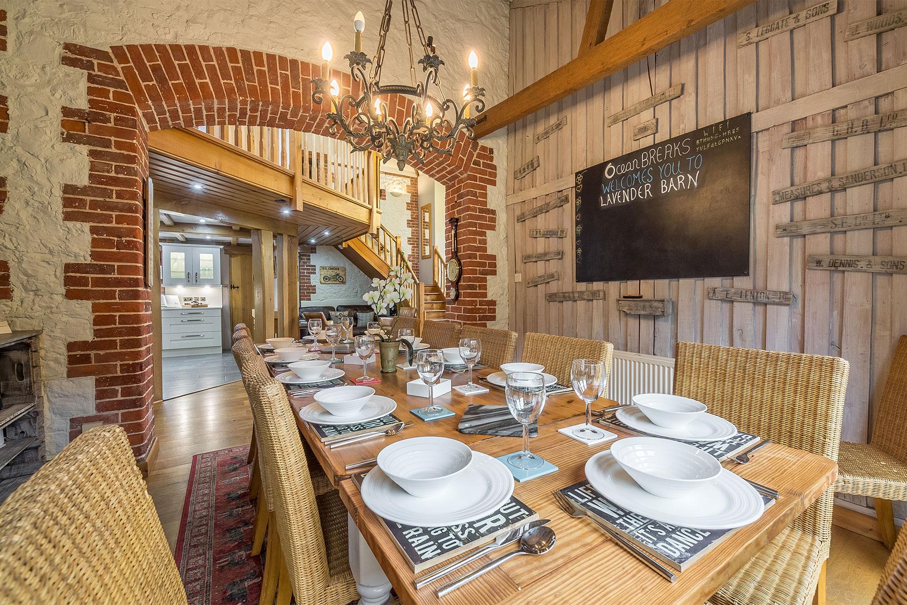 Lavender Barn - Dining Room